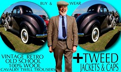 Tweed jacket Sphere  part 2 2018 (Make Oxygen... Kill Co2...Plant More Trees) Tags: old vintage car tweed cap jacket mens dapper 2018 fashion cavalrytwill gents plaid tweedcoat flat cheesecutter auto nz kiwi country tie clothes poster sign text houndstooth dogtooth retro oldschool