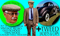 Tweed Dapper Sphere part 2 (Make Oxygen... Kill Co2...Plant More Trees) Tags: old vintage car tweed cap jacket mens dapper 2018 fashion cavalrytwill gents plaid tweedcoat flat cheesecutter auto nz kiwi country tie clothes poster sign text houndstooth dogtooth retro oldschool