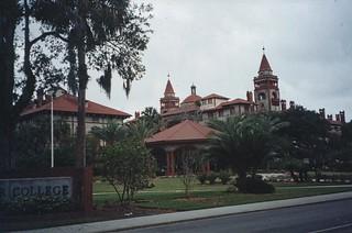 St Augustine  Florida - Ponce de Leon Hotel - Flagler College - Historic