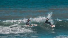 (Adriani9819) Tags: surf surfers surfing surfistas surfista mar sea ocean sport deporte agua water naturaleza playa beach wave waves olas gijon asturias spain españa qsl wsl action