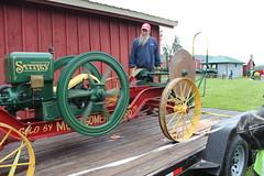 Newfane 066 (28) (swi66) Tags: dunkirk hit miss motors diesel cannons farm tractor john deere antique historical