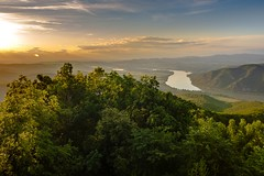 Sunset in Danube curve valley (CsiziPhoto) Tags: