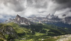 Passo Giao (Kevin.Grace) Tags: dolomites dolomiti italy mountains passo pass giao clouds landscape