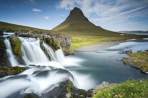 "Waterfall Kirkjufellsfoss in Iceland • <a style=""font-size:0.8em;"" href=""http://www.flickr.com/photos/151084956@N05/41599245342/"" target=""_blank"">View on Flickr</a>"