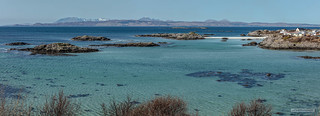 Silver sand beaches, alluring mountainous islands and translucent, turquoise waters of Arisaig.