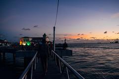 ponta de humaitá (cristhian carvalho) Tags: sunset salvador bahia brazil bridge man lights church sky