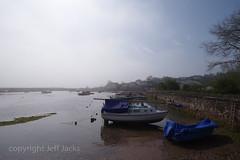 Cockwood Harbour K1__5999.jpg (screwdriver222) Tags: devon moorings ladder pentax k1 mist buoys swans wall hdpentaxdfa1530mmf28edsdmwr boats cockwood harbour starcross england unitedkingdom gb