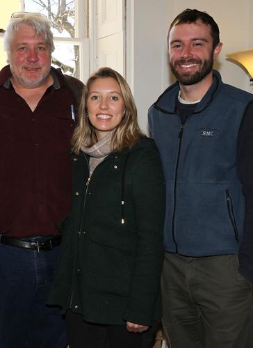 Eugene Boesch, Charlotte Boesch and Greg Scott