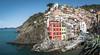 Riomaggiore panorama (Ludo_Jacobs) Tags: riomaggiore panorama italy coast sea travel tourism europe cinqueterre