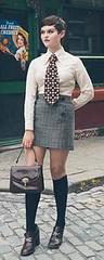 Lara Nicole (bof352000) Tags: woman tie necktie suit shirt fashion businesswoman elegance class strict femme cravate costume chemise mode affaire