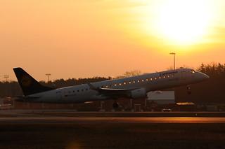 D-AECD - Embraer ERJ-190LR - Lufthansa @ FRA