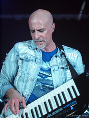 Jean Pageau with Mystery (ExeDave) Tags: p4278511 jeanpageau vocalist mystery wintersend progressive rock festival 2018 thedrillhall chepstow wales gb uk p4298726 live prog classic music band group canadian april gig concert portrait
