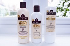 Aussie Miracle Shine Shampoo, Condicionador e 3 Minute Miracle Miracle Shine Review (meumoda) Tags: aussie condicionador minute miracle shampoo shine