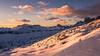 Light's kisses (Ettore Trevisiol) Tags: ettore trevisiol nikon d7200 d300 friuli tree sunset blue hour goldenhour dolomiti snow cortina dolimites winter