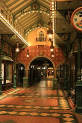 Discovery Arcade 1 (Somewhere, Lost) Tags: france paris disneyland disneylandparis discoveryland adventureland frontierland fantasyland night nightphotography