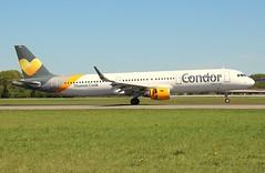 Condor, D-AIAD, MSN 6053,Airbus A 321-211 (SL), 06.05.2018,  HAM-EDDH, Hamburg (henrykkonrad) Tags: condor daiad airbus a321 hamburg hameddh konradhenryk