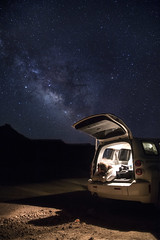 Traveler (Rigsby'sUniquePhotography) Tags: utah zion zionnationalpark usinterior nationalparkservice landscape longexposure galaxy stars nomad travel vanlife sandisk canon aaronrigsby earth nature experience magazine natgeo goneoutdoors getoutthere chevy hhr