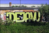 Dejavu (Alex Ellison) Tags: alltypenoface dejavu bedford england uk urban graffiti graff boobs trackside railway