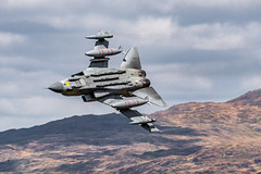 Tornado jet fighter screaming through the mach loop (Happy snappy nature) Tags: tornado jetfighter aviation military raf machloop valley outdoors wales nikond500 nikon200500 lowflying