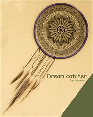 dream catcher (polelena24) Tags: lace crochet doily dreamcatcher