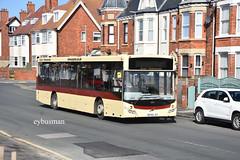East Yorkshire 387, BT65JGY. (EYBusman) Tags: east yorkshire motor services eyms hull bus coach hornsea town centre mcv evolution volvo b8rle eybusman
