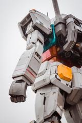. (Richard Nabarro) Tags: robot 60d machine city odaiba canon urban gundam technology overcast raining fictional statue asia mech japan tokyo