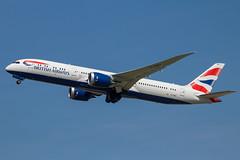 British Airways - Boeing 787-9 Dreamliner G-ZBKI @ London Heathrow (Shaun Grist) Tags: gzbki ba britishairways speedbird boeing 787 dreamliner shaungrist lhr egll london londonheathrow heathrow airport aircraft aviation aeroplanes airline avgeek takeoff 27l