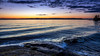 Waves and Clouds (Jens Haggren) Tags: sea seascape sunset water waves rocks sky clouds landscape scenery nature view colours nacka sweden olympus em1 jenshaggren