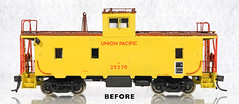 OMI UP 25342 CA-6 Caboose BEFORE (was 25370) (Twin Ports Rail History) Tags: jeff lemke trains inc ho scale brass model train professional services omi overland models up union pacific ca6 steel caboose custom painted