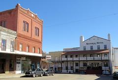 Jackson, California (Larry Myhre) Tags: historic buildings jackson california ioofbuilding nationalhotel