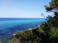 ~ breath ~ (Eleni Deli) Tags: halkidiki chalkidiki χαλκιδική μακεδονία ελλάδα macedonia hellas greece blue green μπλε γαλάζιο πράσινο θάλασσα sea δέντρα trees macedoniagreece makedonia timeless macedonian macédoine mazedonien μακεδονια македонија