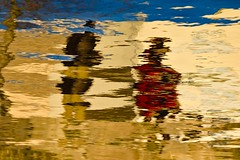 Dialogues (Sophist series) (RKAMARI) Tags: 2016 ankara mogan abstraction artphotography color reflections water flickrsbest