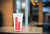 Break - Burger King (Nik2o) Tags: horizontal verticale break espagne street zero coca cocacola nourriture food fastfood water rouge blanc white floue bokeh focus red burgerking gobelet 50mm art sigma d7500 nikon
