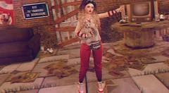 "Hollaback Girl ~ (LaDonna Oceanlane - ""Lala"") Tags: catwa catya maitreya secondlife secondlifelocations neonspiderfoot ladonnaoceanlane moremore nani sorgo xuxu schadenfreude oubliette katat0nik katatonik psychobyts cosmicdust osmia ns wholewheat enchantment"