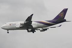 HS-TGX (dbind747438) Tags: thai airways boeing 747400 hstgx bangkok suvarnabhumi airport