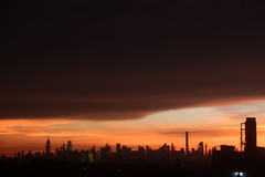 After the Storm (ShellyS) Tags: sunsets sunset nyc newyorkcity manhattan queens skyline skylines sky clouds explore