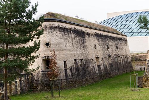 Luxembourg, Museum Drai Eicheln