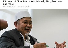 Islam ulamaks are demanding action on Pastor Koh, Teoh Beng Hock, etc. I haven't got wind of any of such demand from elected Christian representatives and churches!? (profocu5) Tags: may 17 2018 1059am islam ulamaks demanding action pastor koh teoh beng hock etc i havent got wind any such demand from elected christian representatives churches