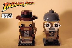 Indiana Jones BrickHeadz