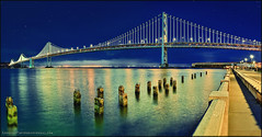 NIGHTLY VIEWS IN SAN FRANCISCO (LOURENḉO Photography) Tags: bay sanfrancisco francisco bayarea view art color traffic ocean pacific place people park california night nightphotography baybridge explore someday please