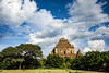 Sulamani (Nebelkuss) Tags: myanmar bagán burma birmania asia templo temple nubes clouds arbol tree verde green fujixt1 fujinonxf23f14 sulamani
