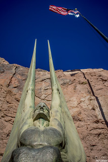GUARDIAN ANGEL AT HOOVER DAM (Winged Figures of the Republic)