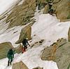 Souvenir à la Petite Verte (Yvan LEMEUR) Tags: petiteverte massifdumontblanc hautesavoie alpinisme alpes hautemontagne névé cordée alpiniste chamonix argentière valléedechamonix extérieur ambiance grandsmontets