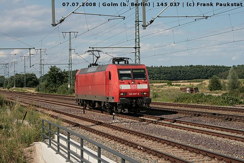 Railion 145 037 in Golm