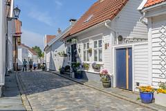 DSC_2576 (Øyvind Andersen) Tags: blue stavanger gamle reise rogaland unesco verenverdig arkitektur architecture norway norge noreg