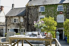 The New Inn Coln St. Aldwyns (Nigel Musgrove-2.5 million views-thank you!) Tags: the new inn coln st aldwyns gloucestershire england cotswolds pub hotel food outside garden