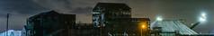 salt processing panorama (pbo31) Tags: bayarea california nikon d810 color may 2018 spring boury pbo31 night dark black panoramic large stitched panorama newark alamedacounty salt crane industrial eastbay silhouette john davis