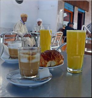 Breakfast in Sidi Ifni