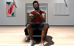 Gallery (HoodCouture) Tags: chucks mensonlymonthly shoeminati galvanized animosity menswear mens secondlife backdropcity