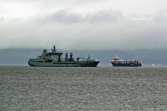 RFA Tidespring (Zak355) Tags: jointwarrior navy exercise scotland scottish frigate ship boat vessel warship riverclyde rfatidespring a136 fueltanker